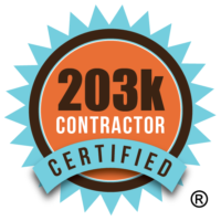 Certified 203k Contractor Logo Registered Trademark
